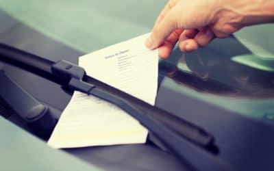 ¿Las multas de tráfico prescriben?